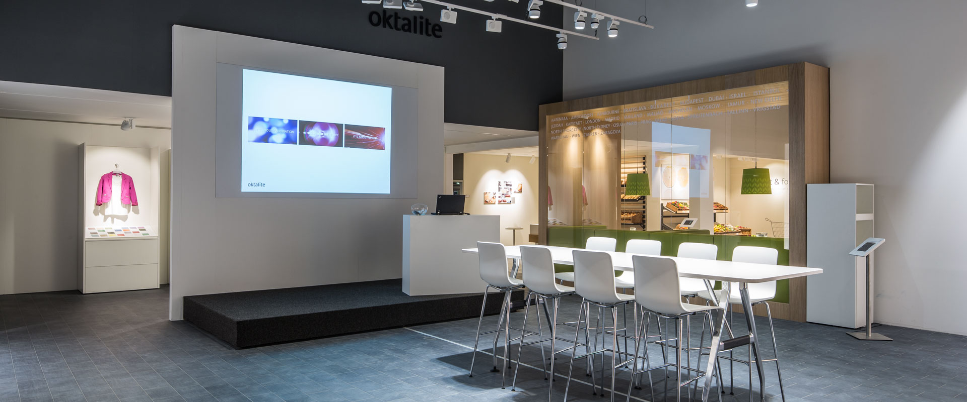 Oktalite Showroom