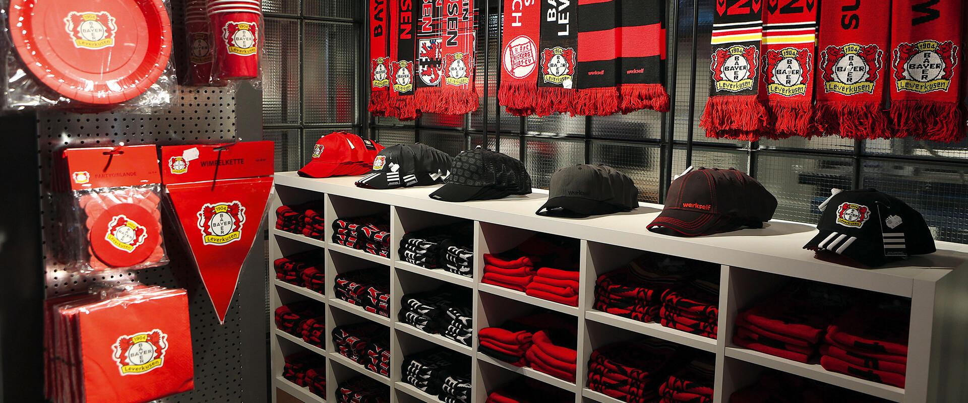 Oktalite Bayer 04 Fanshop