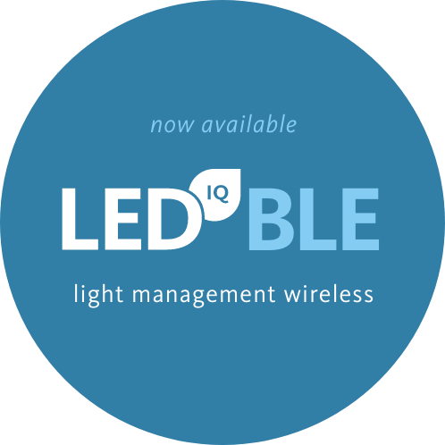 LED IQ BLE | light management wireless | now available